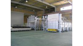 台車式熱処理炉