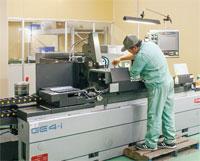 専用設備を用いた高い工程管理技術力が求められる